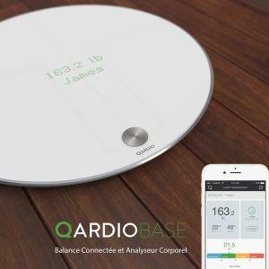 Qardio QardioBase - Pèse-personne et impédancemètre connecté