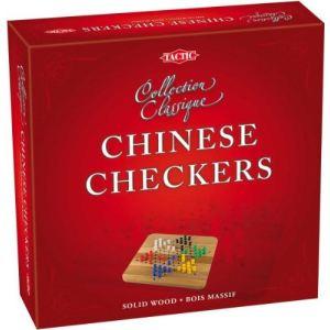 Tactic Dames chinoises en bois ( collection classique)