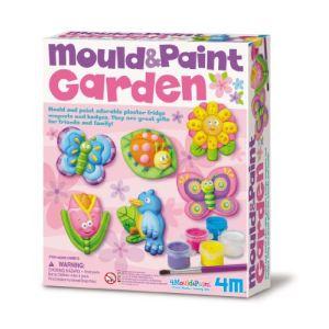 4M - Kidz Labs Kit de moulage en plâtre : Jardin