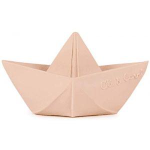 Oli & Carol Jouet de dentition - Bateau Origami Nude OLI&CAROL