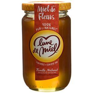 Lune de miel Miel de fleurs, 100% pur et naturel