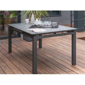 DCB Garden Table de jardin Spraystone 180/240 - Gris