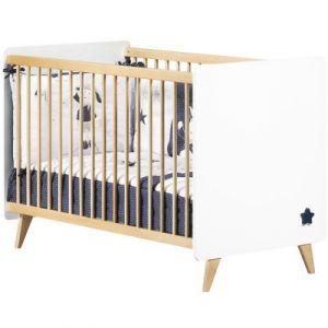 Sauthon Oslo - Lit bébé à barreaux 60 x 120 cm