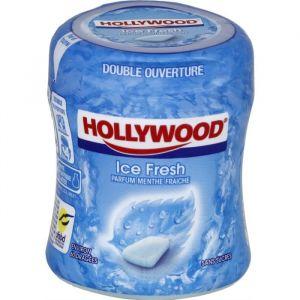 Hollywood Chewing gum Menthe dragées - Boîte de 70