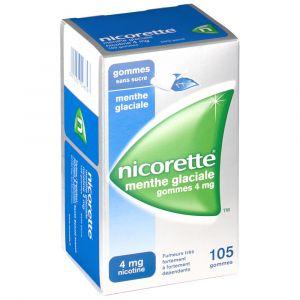 Johnson & Johnson Nicorette menthe glaciale s/s 4 mg - 30 Gommes à mâcher