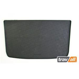 TRAVALL Tapis de coffre baquet sur mesure en caoutchouc TBM1112