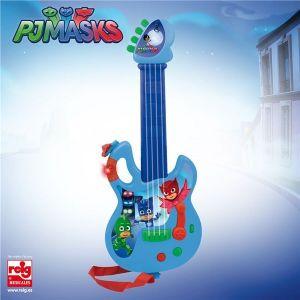 Reig Musicales Guitare électronique Pyjamasques 4 cordes - 6 rythmes
