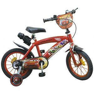 Vélo pour enfant Disney Cars 14 pouces