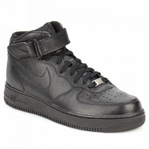 Nike Chaussure Air Force 1 Mid'07 pour Homme - Noir - Taille 48.5 - Homme