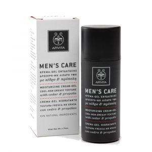 Apivita Men Care - Crème-gel hydratante texture fraîche