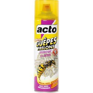 Acto Insecticide guêpes et frelons pulvérisateur