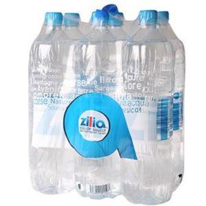 zilia Eau de source des montagnes corses - Les 6 bouteilles de 1,5L