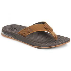 Reef Tongs LEATHER FANNING LOW Marron - Taille 40,42,43,44,45,46,47