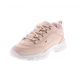 FILA Strada Low WMN, Baskets Hautes Femme, Rose
