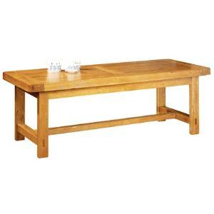 La bresse Table de ferme rectangulaire (220 cm)
