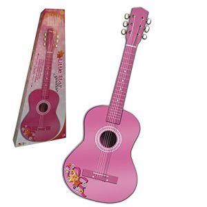 Reig Musicales 7066 - Guitare en bois rose 75 cm
