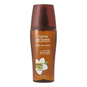 Corine de Farme Huile bronzante bronzage intense au Monoï de Tahiti