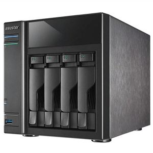 Asus AS-304T - Serveur NAS 4 baies Gigabit ethernet / HDMI