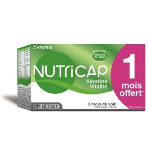 Nutrisanté Nutricap kératine vitalité - 90 capsules