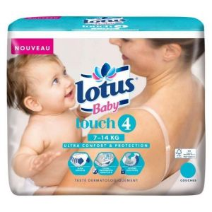 Lotus Baby Touch taille 4 (7-14 kg) - 38 couches