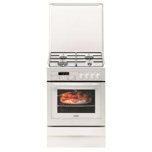 Sauter SCM1064 - Cuisinière mixte 4 brûleurs gaz et four électrique