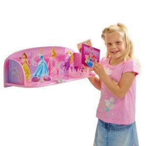 Worlds Apart Étagère murale en bois Disney Princesses