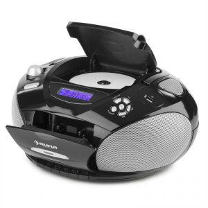 Auna RCD220 - Boombox CD USB lecteur K7