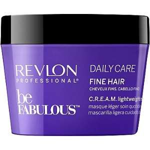 Revlon Professional be Fabulous' Daily Care Fine Hair C.R.E.A.M. Lightweight Mask 200ml