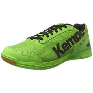 Kettler Kempa Attack Two, Chaussures de Handball Homme, Vert (Vert Espoir/Noir), 47 EU