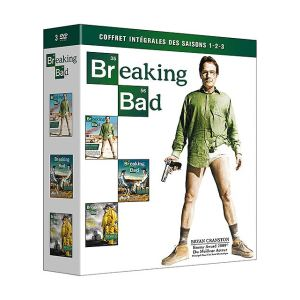 Coffret Breaking Bad - Saisons 1 à 3