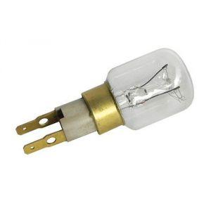 Wpro LRT139 - Ampoule réfrigérateur %u201CTclick%u201D  T25 - 15W - 220V - Ø23 mm - L 66 mm