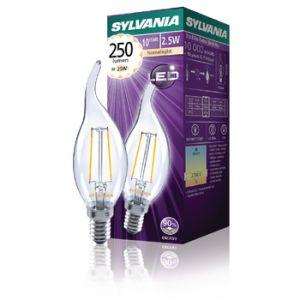 Sylvania 0027183 - Ampoule LED 2,5W Toledo retro coup de vent 250LM E14