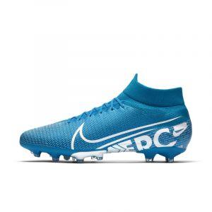 Nike Chaussure de football à crampons pour terrain synthétique Mercurial Superfly 7 Pro AG-PRO - Bleu - Taille 42 - Unisex