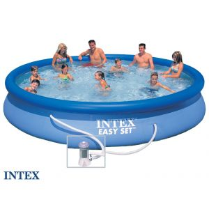 Intex Piscine autoportée Easy Set (4,57 x 0,84 m)