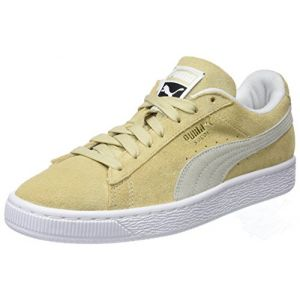 Puma Suede Classic, Sneakers Basses Mixte Adulte, Beige (Pebble White White), 40 EU