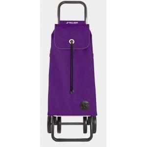 Rolser Imx005 more Poussette de marché pliante 2+2 roues 43l violet i-max