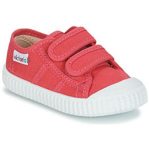 Victoria Baskets basses enfant BASKET VELCRO LONA rose - Taille 28,29,30,31,32,33,34
