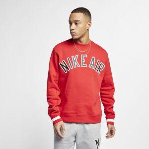 Nike Haut en tissu Fleece Air pour Homme - Rouge - Taille L