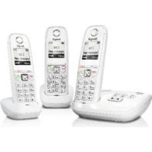 Gigaset AS405A Trio - Téléphone sans fil avec répondeur