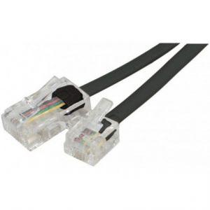 Câble adaptateur RJ11 mâle / RJ45 mâle (2 mètres)