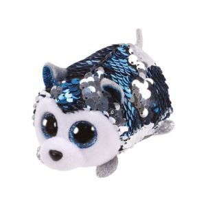 Jura Teeny Ty sequins - Peluche Slush le chien 8 cm
