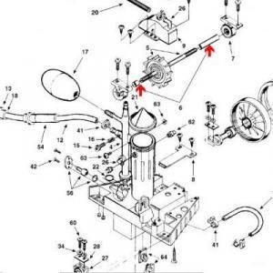 Procopi 1002005 - Entretoise de turbine Polaris 180-280