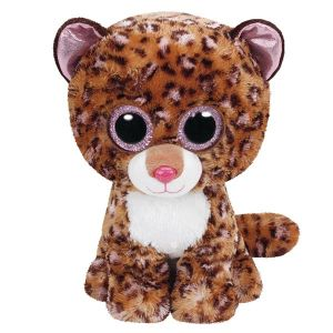 Ty TY37068 - Beanie Boo's peluche patches Léopard 23 cm