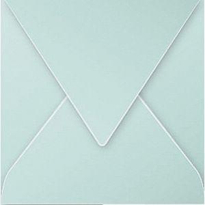 Clairefontaine 12033C - Enveloppe Pollen 120x120, 120 g/m², coloris vert jade, en paquet cellophané de 20
