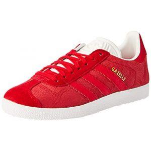 lowest price f2845 b11c9 Comparer chez 1 marchand. Adidas Gazelle W, Chaussures de Fitness Femme,  Rouge Rojfue Ftwbla 0, 39