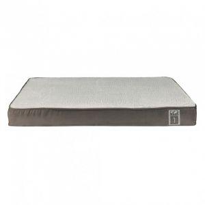 Trixie Vital Coussin Best of all Breeds - 80 × 50 cm - Taupe et gris clair - Pour chien