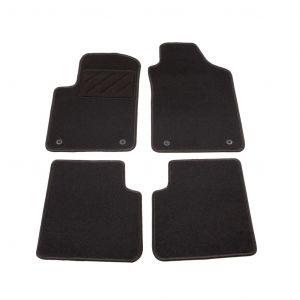 VidaXL Ensemble de tapis de voiture 4 pcs pour Fiat 500 C Twinair