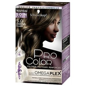 Schwarzkopf Pro Color Coloration 5.0 chatain clair
