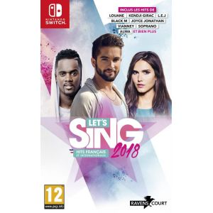Let's Sing 2018 Hits Français Et Internationaux sur Switch