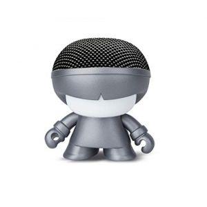 Xoopar Enceinte nomade Mini Xboy - Gris Metallic